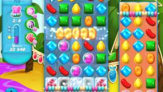 Candy Crush Soda Saga Level 712 - NO BOOSTERS