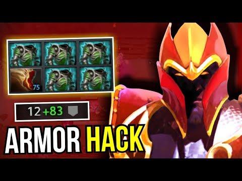 ARMOR HACK - 5 Assault Cuiras Dragon Knight New Meta 7.07 Dota 2 | Upside Down #26
