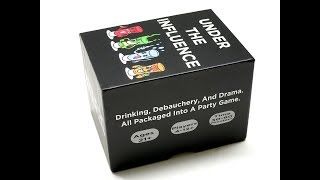 REVIEW: Under The Influence - The Wildest Adult Drinking Party Game Ever