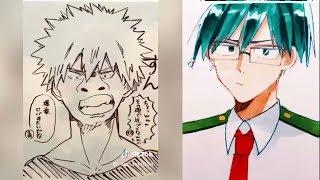 【ティックトック イラスト】ヒロアカ集 - Tik Tok Paint Anime #1