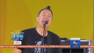 Blink 182 - Bored To Death Live  2016, Good Morning America