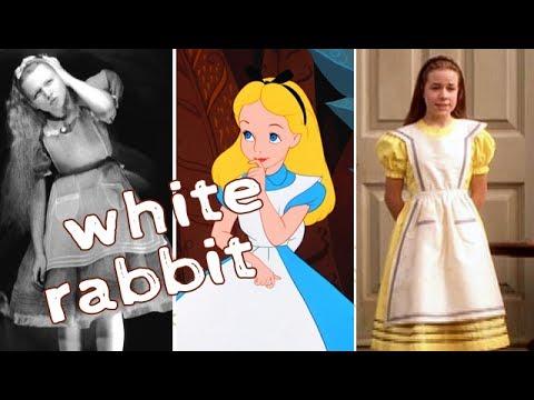 White Rabbit - Alice In Wonderland (Movie Mashup)