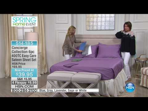 HSN | Concierge Collection Bedding 05.08.2017 - 02 PM