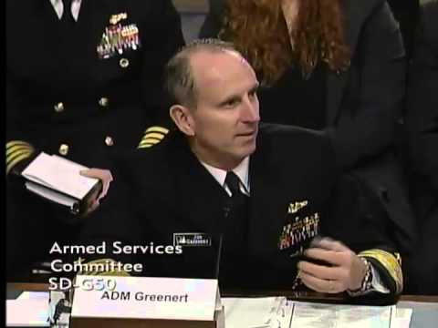 Sen. Sullivan Questions Chief of Naval Operations & Secretary of Navy on Arctic Issues 3/10/15