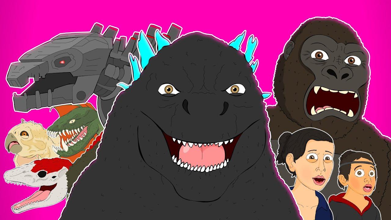 Download ♪ GODZILLA VS KONG THE MUSICAL - Animated Song