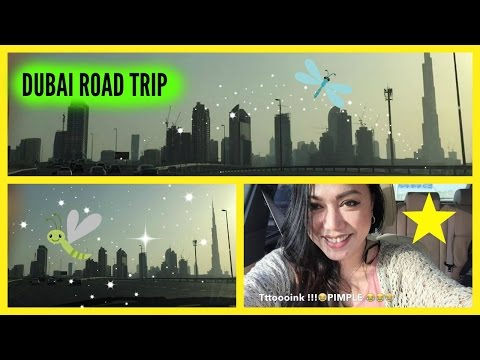 DUBAI ROAD TRIP GOING TO MALL OF THE EMIRATES | VLOG #001 | CANDYSOLEDAD MIX
