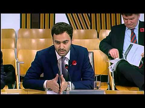 Local Government and Regeneration Committee - Scottish Parliament: 11th November 2015