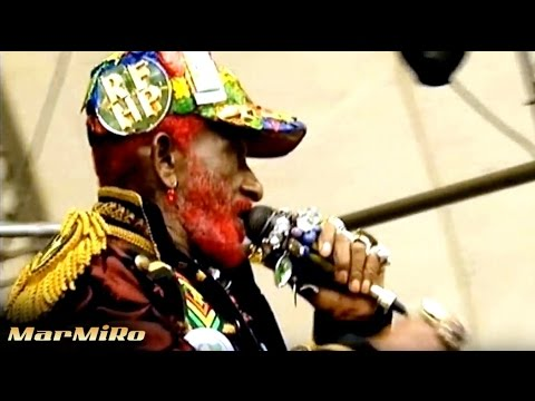 LEE SCRATCH PERRY - DuB those crazy Baldheads [HD] Summerjam 2011