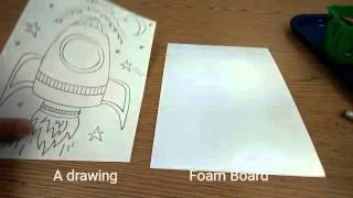 Foam Printing with Markers
