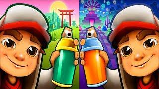 Subway Surfers Mexico Halloween vs Tokyo - ipad Gameplay FOr Children HD