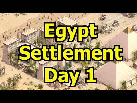 Forge of Empires: 7-Day Egypt Settlement Run - Day 1