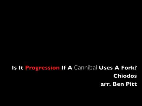 """Chiodos-""""Is It Progression If A Cannibal Uses A Fork?"""": Front Ensemble Warm-Up"""