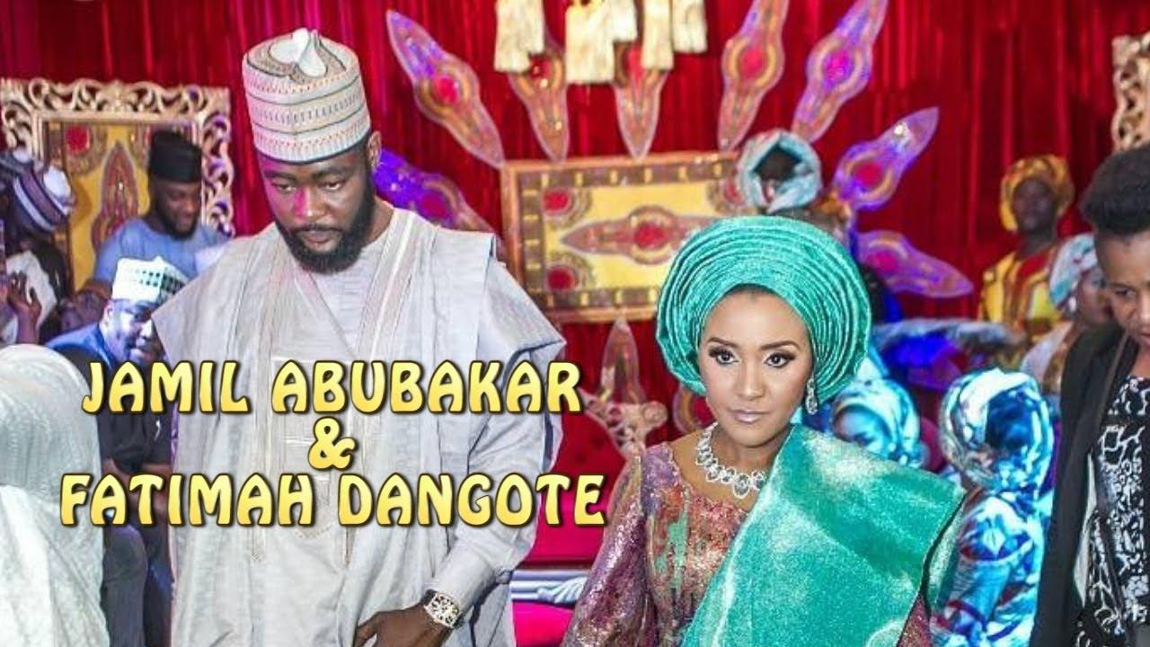 The wedding of Fatima Dangote