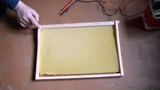 Электронаващивание ульевых рамок