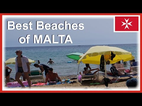 Best Beaches in Malta (Mainland) - Includes drone video footage from DJI Mavic Air