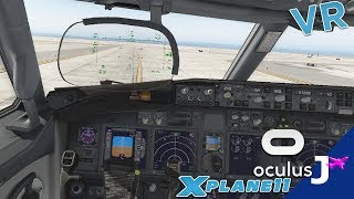 X-Plane 11 Virtual Reality (VR) | Winter Denver Departure