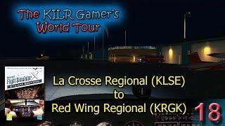 FSX:SE -- La Crosse, WI (KLSE) to Red Wing, MN (KRGK) || KILR Gamer's World Tour