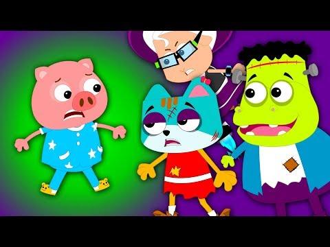 hello it's halloween | halloween song for children | baby rhyme | videos for preschoolers