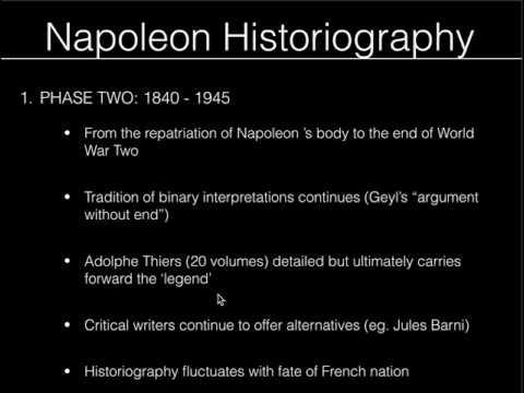Napoleonic Historiography Pt 2