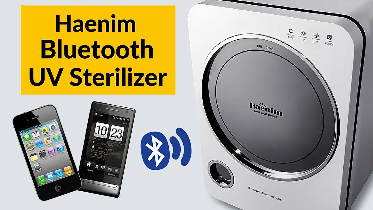 Haenim HN-03 3rd Generation Bluetooth Dayer /& Multi Baby Bottle Sterilizer 220V