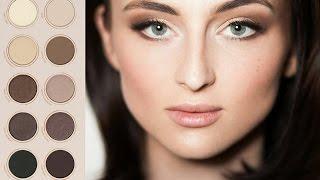 Макияж палеткой ZOEVA Naturally Yours, Makeup Tutorial