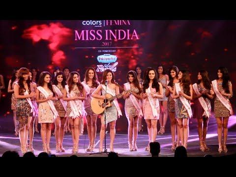 Rody H Vanlalhriatpuii Performance: Miss India 2017 Sub Contest Ceremony