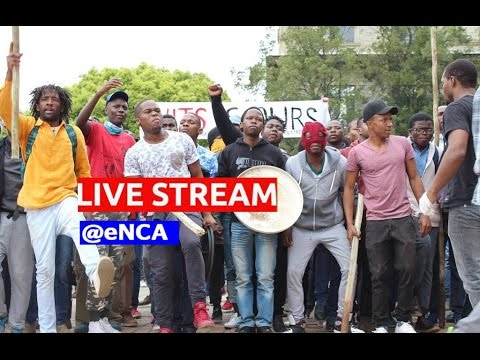 LIVE STREAM: Wits students continue protest