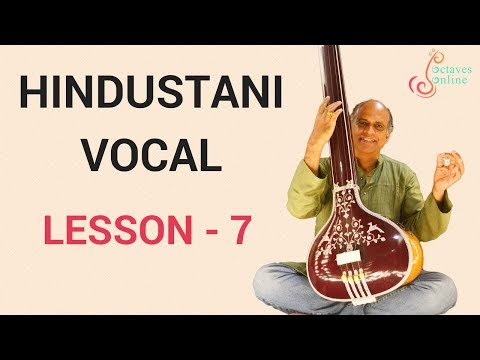 Hindustani Vocal - Lesson 7 - Alap in Raag Bhairav, Raag and Thaat Bhairav difference