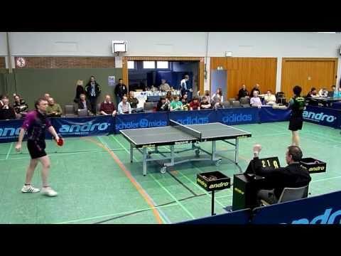 TT 2. BL. 30.01.2011: Vladislav Broda vs. Wai Lung Chung  (30:28 Min.) Tischtennis Bundesliga