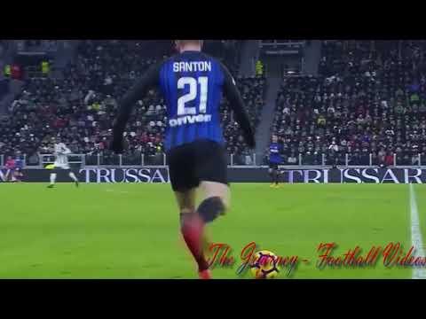 Davide Santon Vs Juventus  (9/12/2017) - Injury... 17/18 Serie A HD