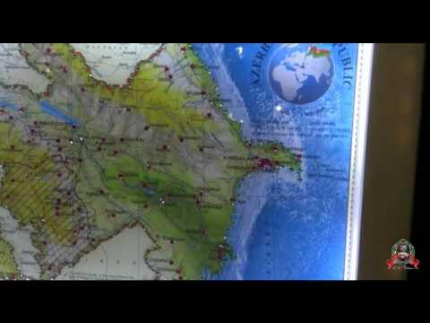 Map Azerbaijan 2