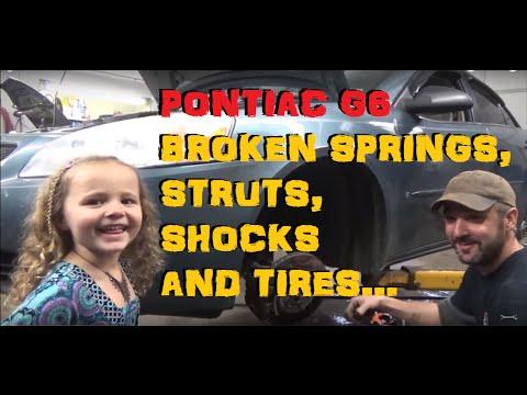 Pontiac G6 - Rear Springs, Shocks, Struts and Tires