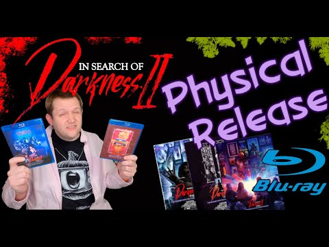 Download In Search Of Darkness 2 physical media review and drama wrap up