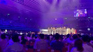 WBA世界ミドル級タイトルマッチ 村田諒太選手入場 inエディオン・アリーナ