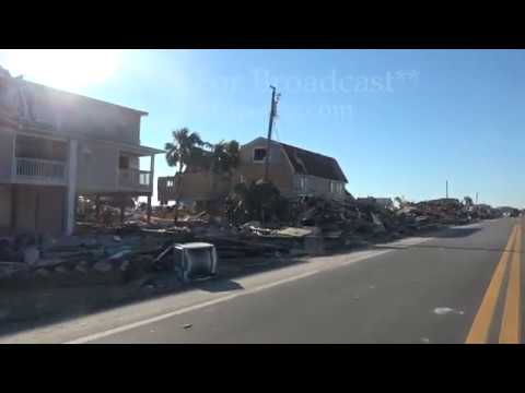 What it looks like driving down HWY 98 after Hurricane Michael - Mexico City, FL - 10/13/2018