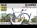 INNO Tyre Hold bike carrier INA389 - How to fit