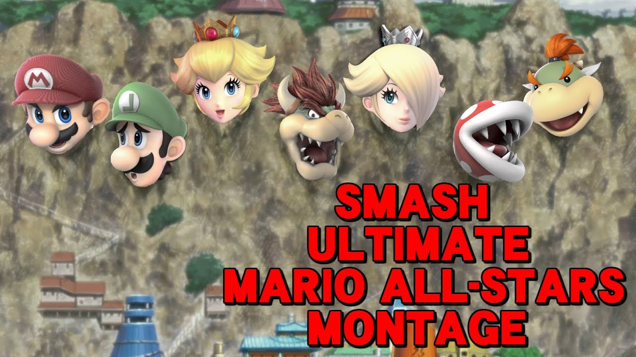 MARIO ALL-STARS ARE BROKEN! (Super Smash Bros. Ultimate Montage) thumbnail