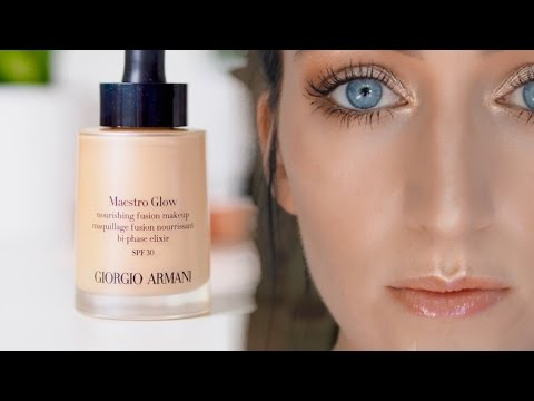Armani Maestro Glow Review PART 1-  First Impression Tutorial-