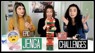 Το πιο βασανιστικό Jenga (με challenges) || fraoules22