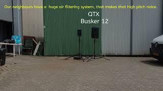 Qtx Busker 12 vs Samson XP106 vs Fun Generation PL 115 A