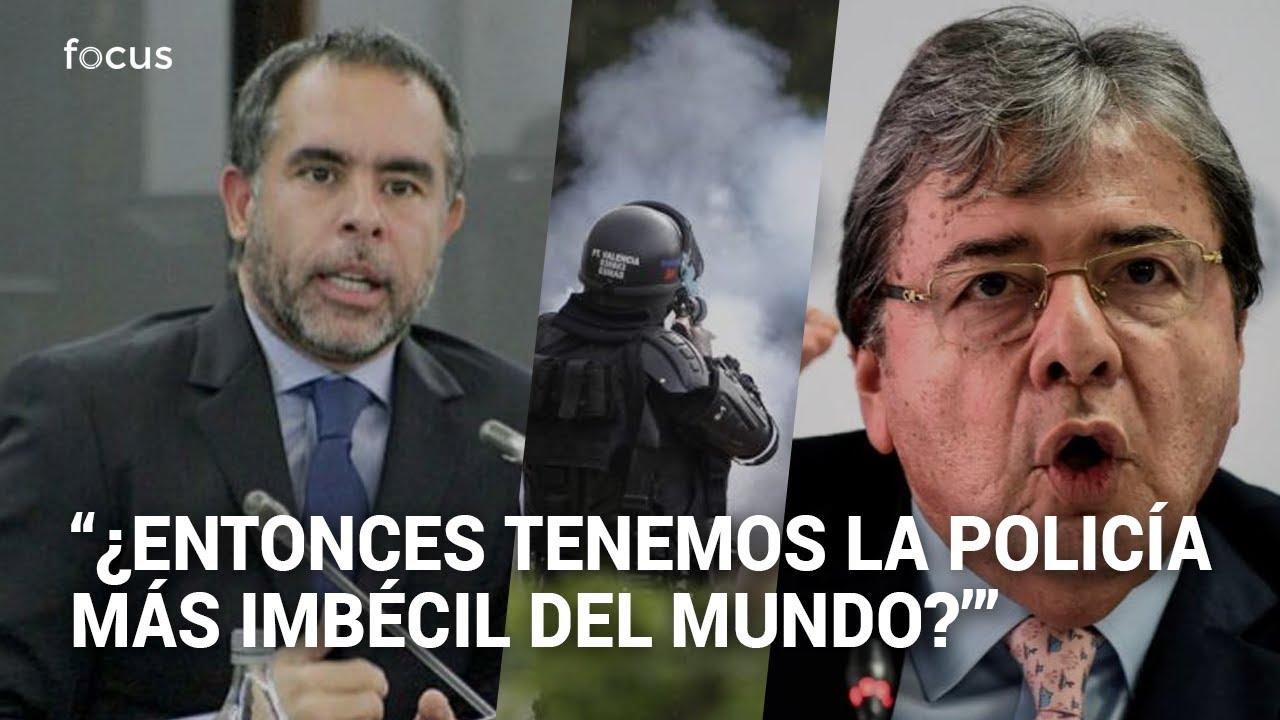 """Una verguenza"": Benedetti arremete contra ministro de Defensa y Congreso"