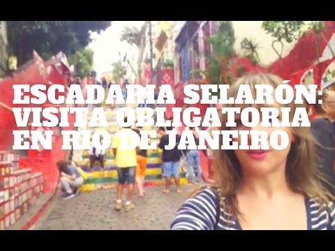 Escadaria Selarón: visita fundamental en Río de Janeiro