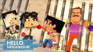 Minecraft: HELLO NEIGHBOR - PRENDEMOS O VIZINHO   EP 6