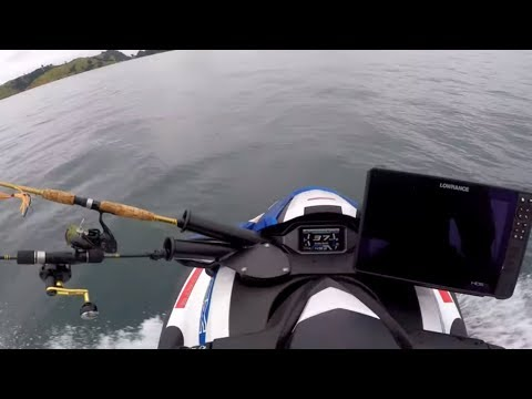 Fishing Blind Without A Fish Finder On The Jet Ski