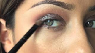 Fall Look using Blue Brown pigment from MAC Thumbnail