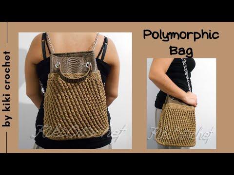 Crochet Polymorphic Bag