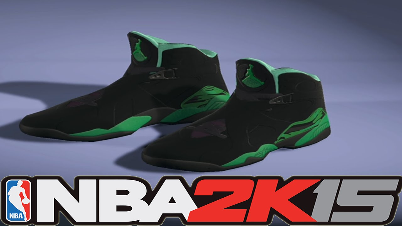 huge discount 7c910 471ca #NBA2K15 Next Gen Shoes - Air Jordan 8 Sugar Rays Allen