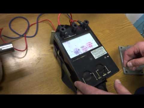 Измерение сопротивления изоляции электродвигателя