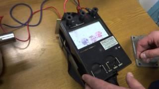 Измерение сопротивления изоляции электродвигателя(Измерение сопротивления изоляции электродвигателя мегаомметром ЭСО202/2Г., 2016-04-21T21:03:07.000Z)