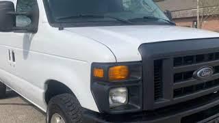 2012 *Ford Econoline Cargo Van E250* COMMERCIAL AUTO 4.6 V8 ENGINE CLEAN (Akron, Ohio)